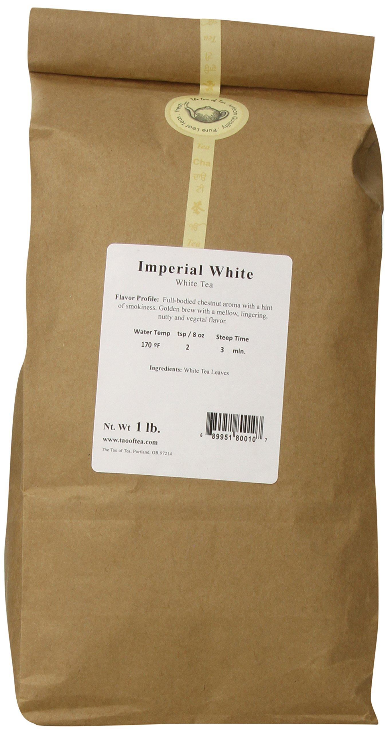 The Tao of Tea Imperial, White Tea, 1-Pounds