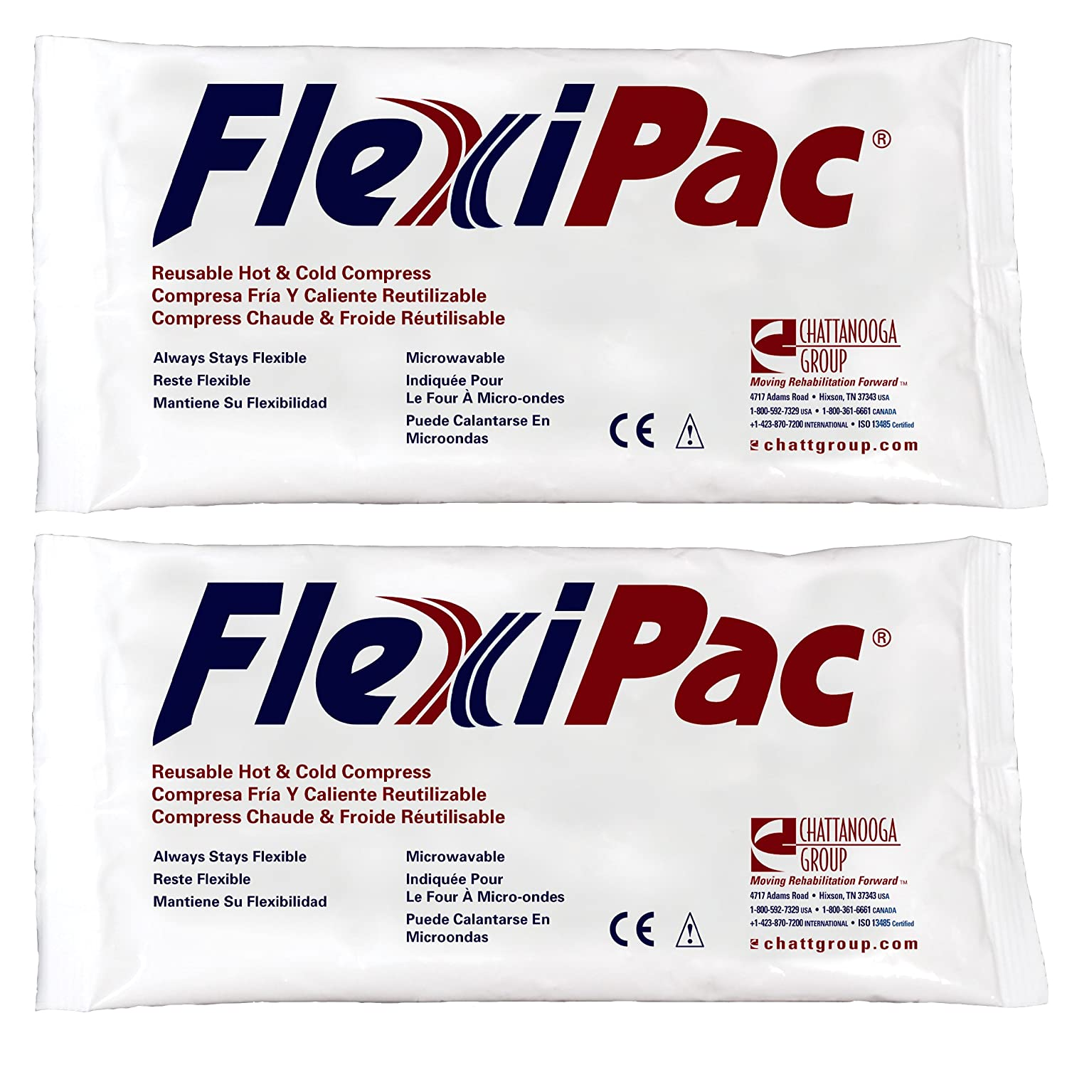 Amazon.com: Chattanooga FlexiPac Cold Pack Ice Packs 5x10 ...