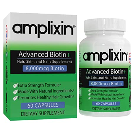 Amplixin Biotin Hair Supplement