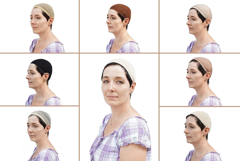 Bajo Gorro Chimio bambú gisèla Mayer para peluca: Amazon.es: Salud y cuidado personal