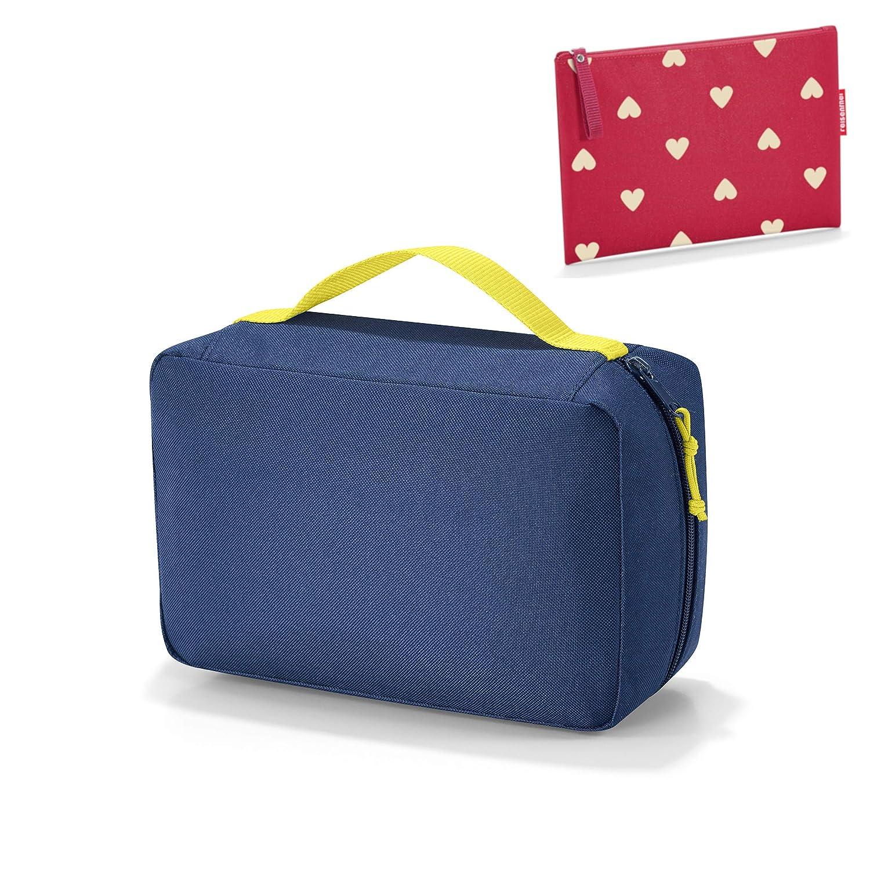 reisenthel kids Wickeltasche babycase black gratis kleine Tasche case 1 ruby hearts