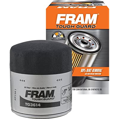 FRAM TG3614 Tough Guard Passenger Car Spin-On Oil Filter: Automotive