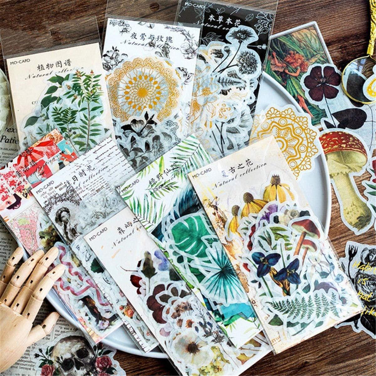 ShopSquare64 Bella Fiori 60pcs Scrapbooking Adesivi Card Making Album Decor Sticker