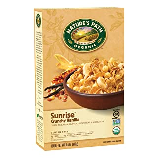 Nature's Path Crunchy Vanilla Sunrise, 10.6-Ounce Boxes (Pack of 3)