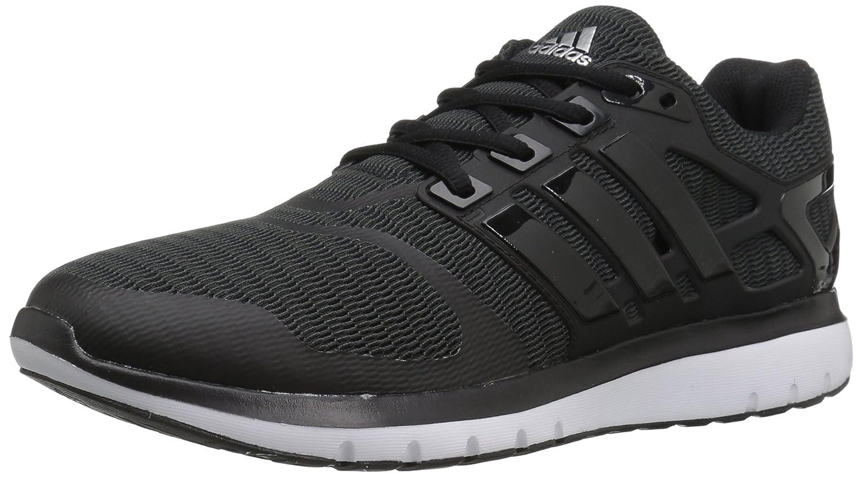 adidas Women's Energy Cloud V Running Shoe B01H7X9LDE 5 B(M) US|Black/Black/Dark Grey Heather
