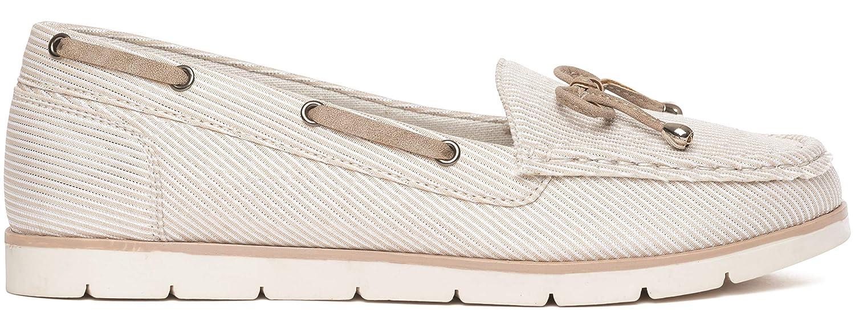 Dr Keller Online Ladies Boat/Deck Shoes Slip On Memory Foam UK Sizes 4-8