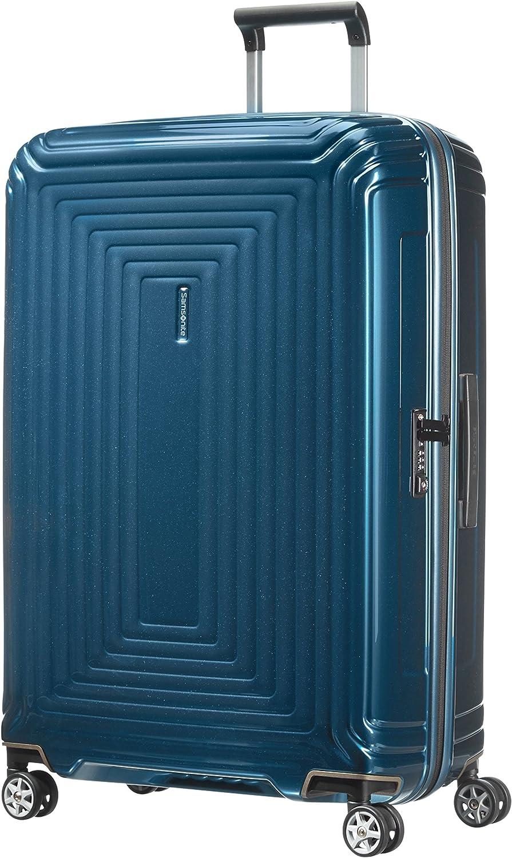 Samsonite Neopulse - Spinner L Maleta, 75 cm, 94 L, Azul (Metallic Blue)