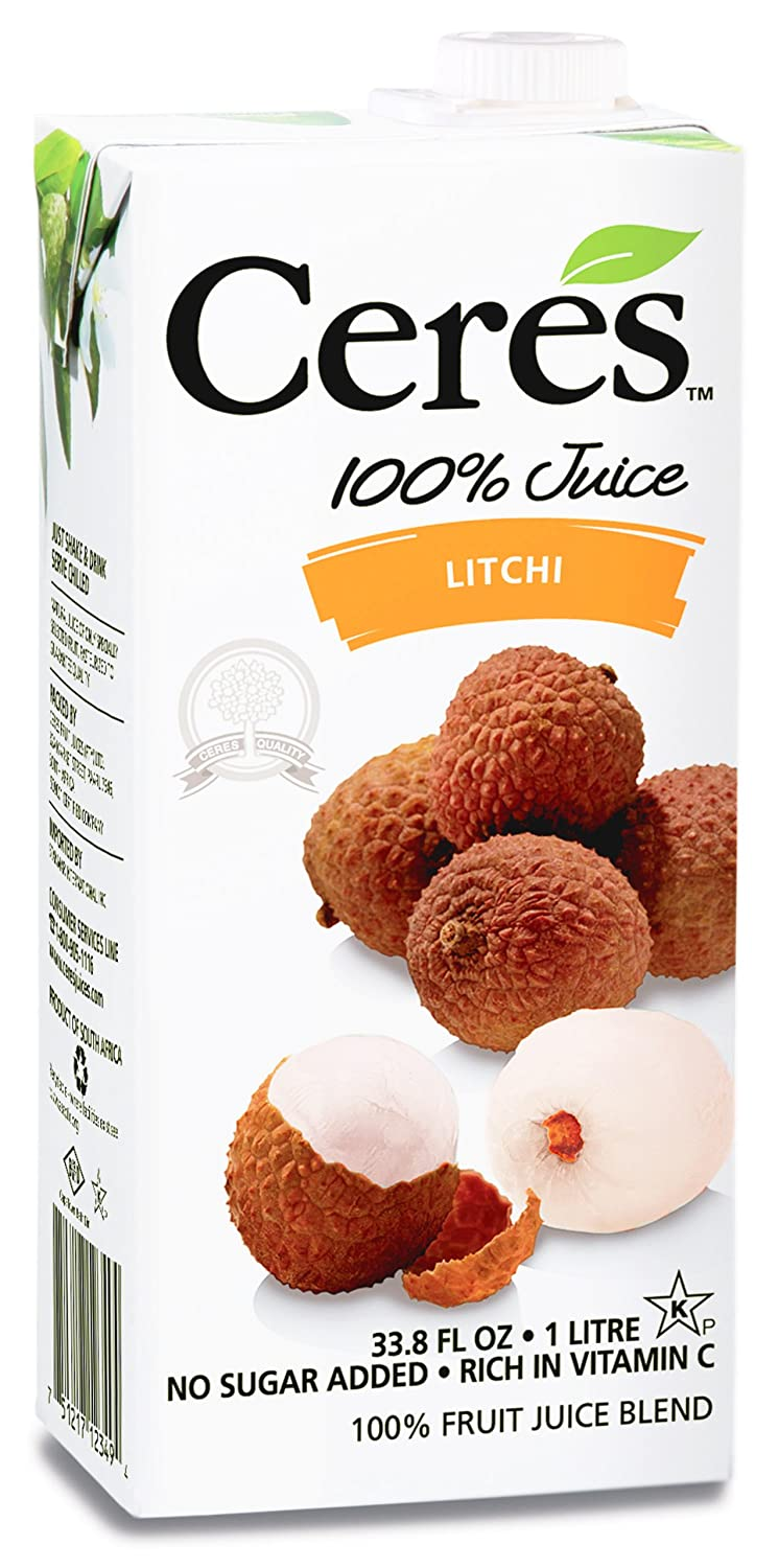 Ceres 100% Fruit Juice Blend, Litchi, 33 8 Ounce (Pack of 12)