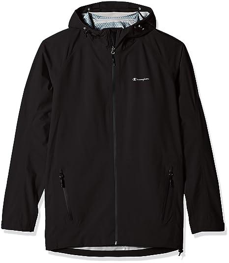 39f6c4965 Champion Men's Tall Size Stretch Waterproof Rain Jacket, Black, X-Large at  Amazon Men's Clothing store: