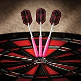 Viper V Glo Soft Tip Darts, Pink/Grey, 18 Grams