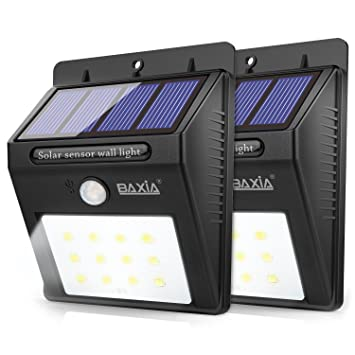 Baxia technology led solar lights outdoor wireless waterproof solar baxia technology led solar lights outdoor wireless waterproof solar motion sensor security night lights for aloadofball Images
