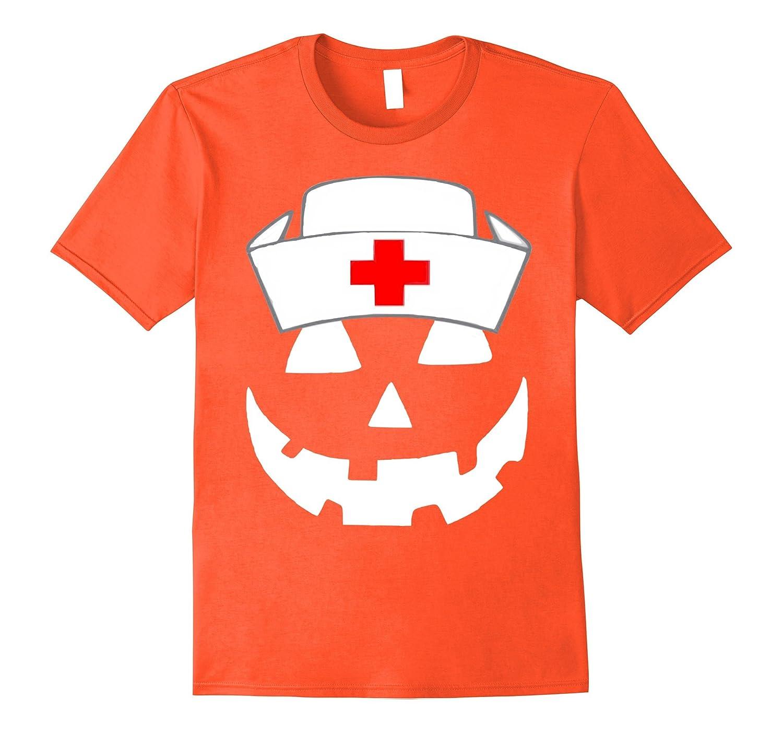 713c3c8e Official Halloween Pumpkin Nurse Funny T-Shirt-FL - Sunflowershirt