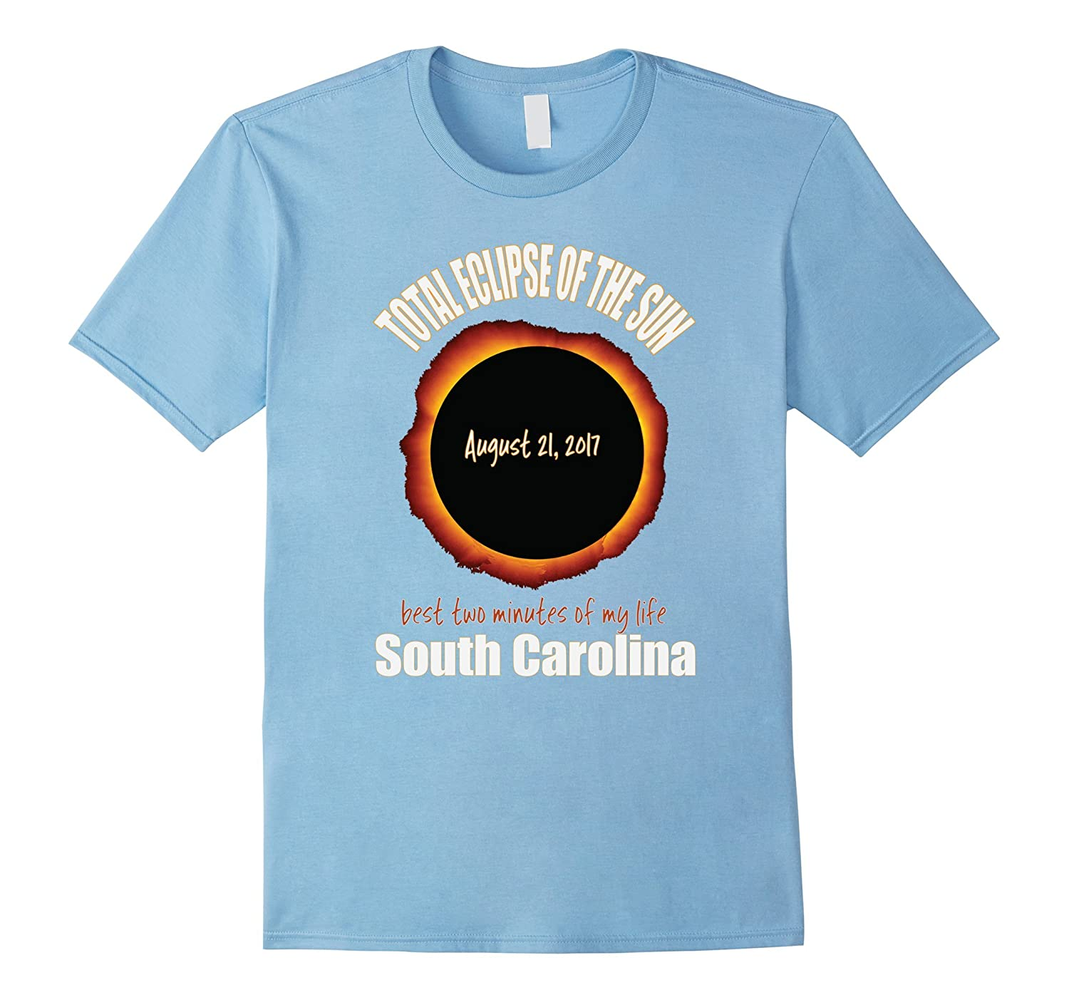 2017 Solar Eclipse Souvenir South Carolina SC T Shirt-Art