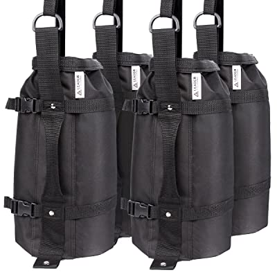 Leader Accessories 4Pcs/Pack Weight Bags Canopy Weights Sand Bags 30lbs/pc Upgraded Huge Capacity : Garden & Outdoor