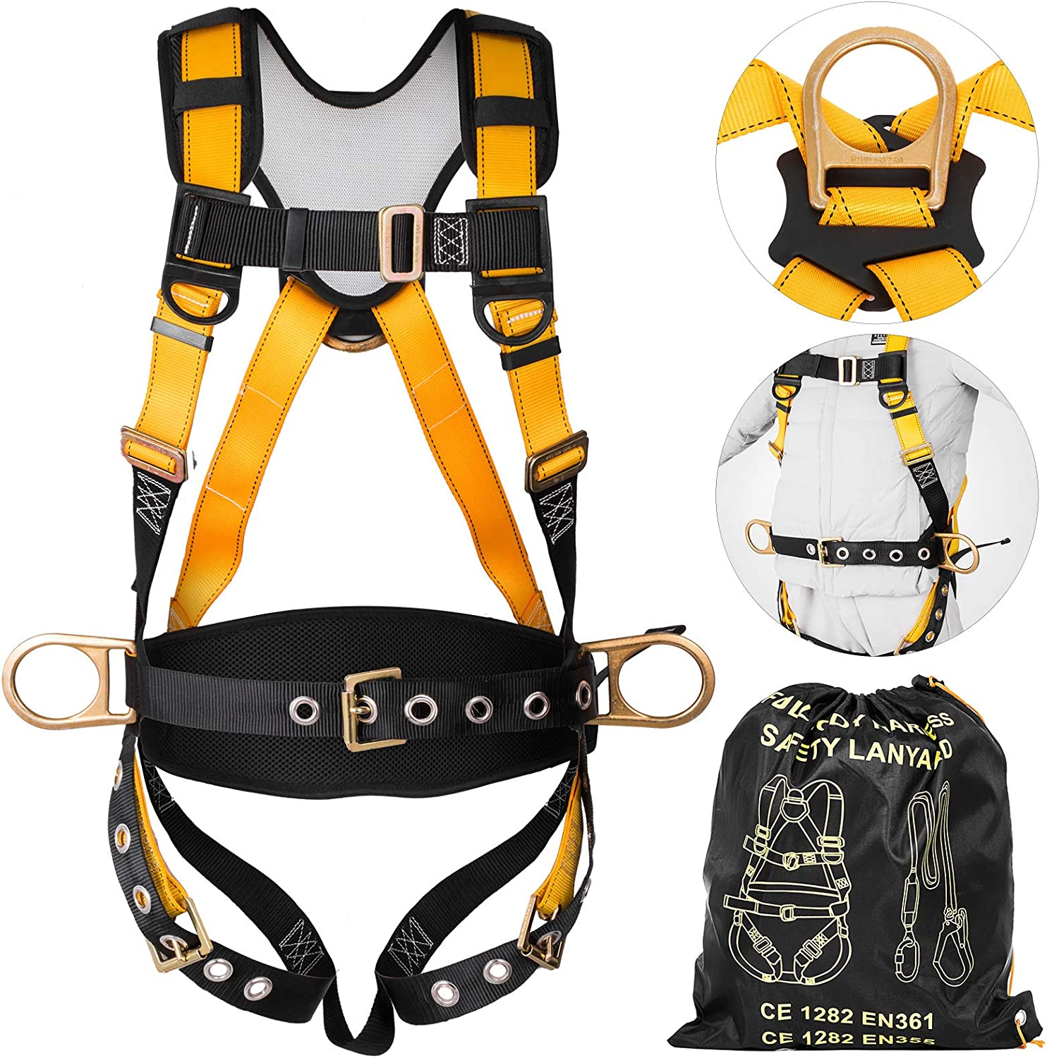 Full Body Safety Harness Fall Arrest for   Construction-100kg