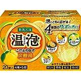 アース製薬 温泡 ONPO  炭酸湯 20錠(5錠x4種)