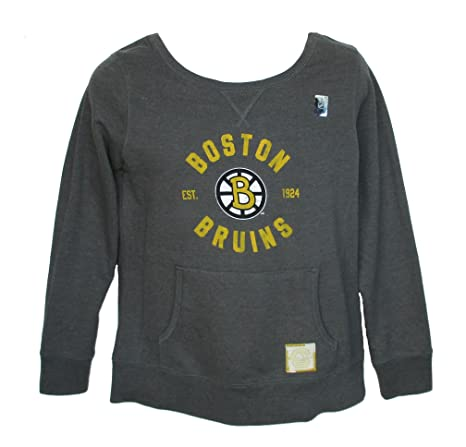 Amazon Com Boston Bruins Womens Sweatshirt Size Large Team Colors