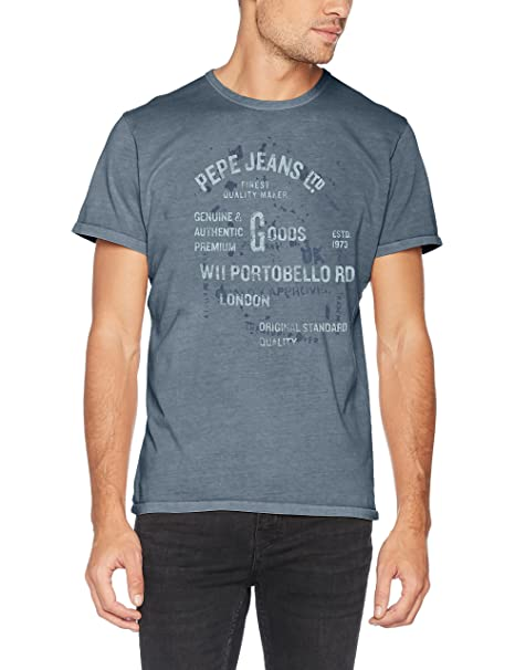 Hombre Amazon Jeans Camisetas Pepe London fzt66q