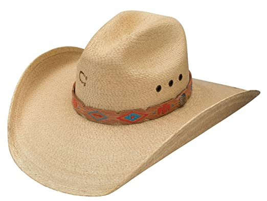 Image Unavailable. Image not available for. Color  Charlie 1 Horse Presidio  Palm Cowboy Hat 67eeb382962
