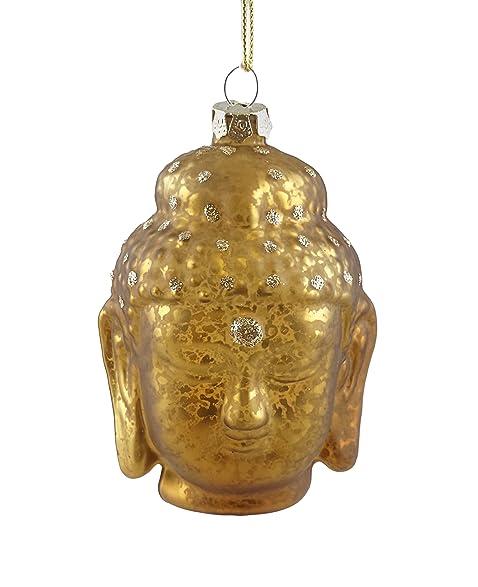 India Buddha Head Hanging Christmas Ornament (Gold) - Amazon.com: India Buddha Head Hanging Christmas Ornament (Gold