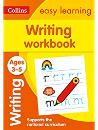 Amazon early childhood education books writing workbook ages 3 5 collins easy learning preschool fandeluxe Image collections