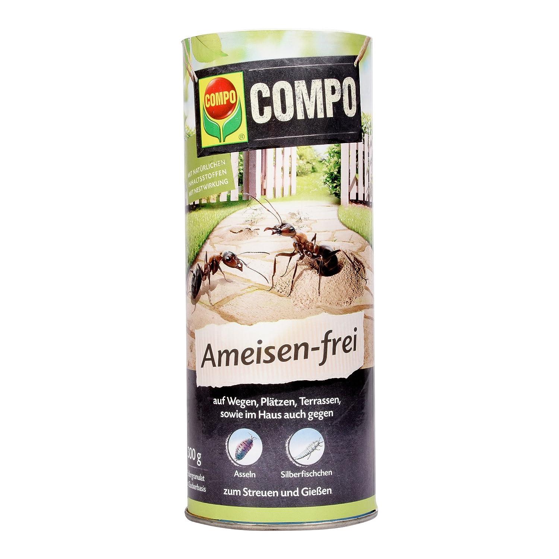 COMPO Ameisen-frei N, Staubfreies Ködergranulat mit Nestwirkung, 300 g 20776