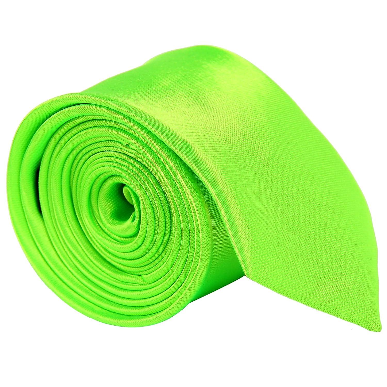 CellDeal, einfarbige Herren-Hochzeits-Krawatte, schmal unifarben Tie Krawatte OT+TIE+018