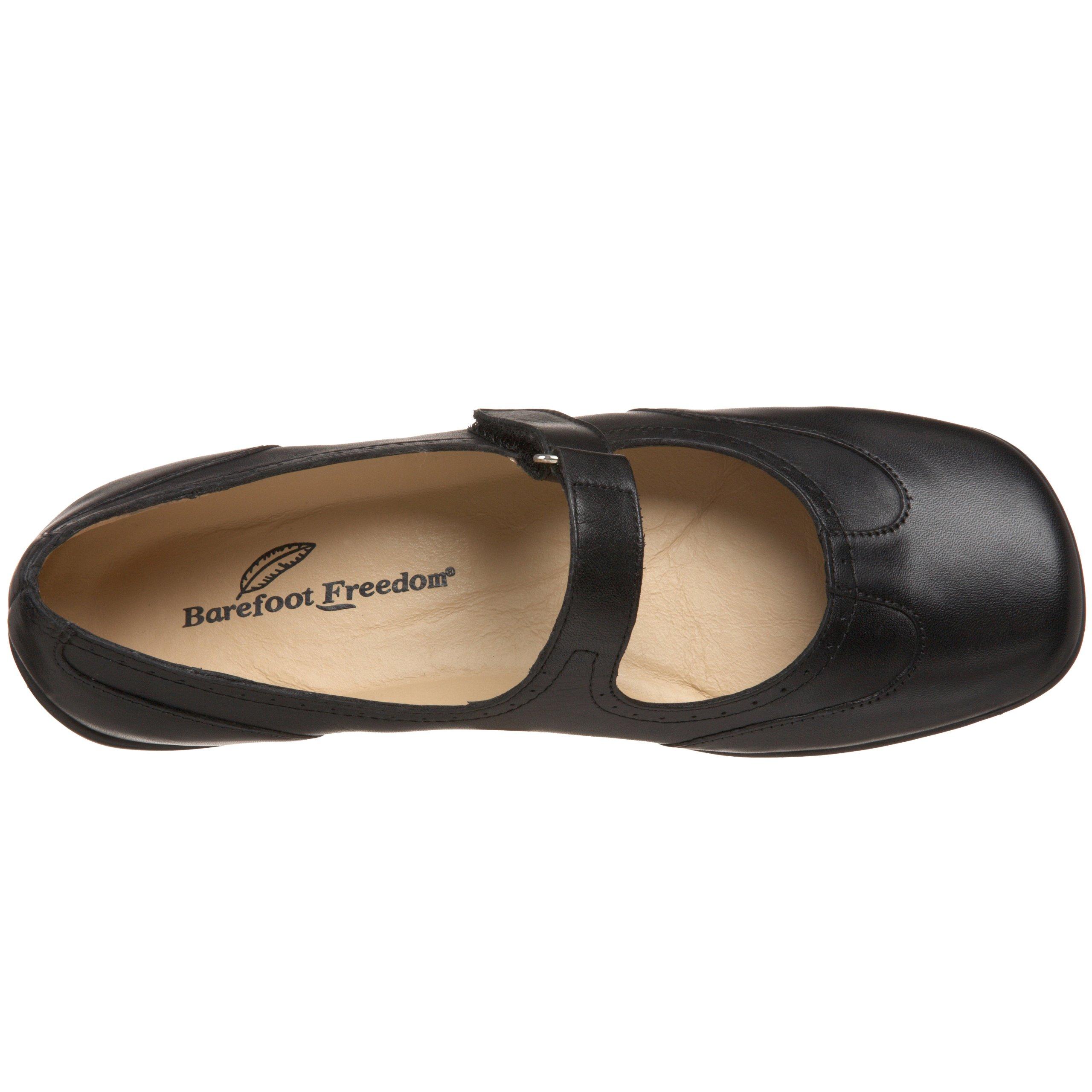 Drew Shoe Women's Isabel Mary Jane,Black Leather,6 W US by Drew Shoe (Image #7)