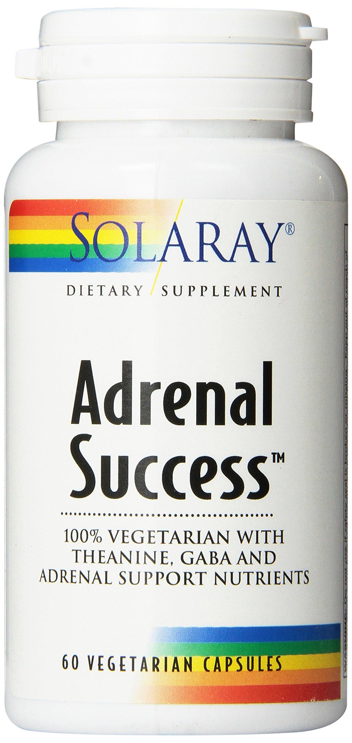 Solaray Adrenal Success Supplement, 60 Count