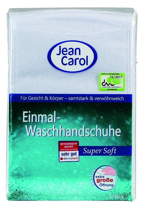 Jean Carol toallitas desechables, Súper, 8 Paquete (8 x 12 piezas)