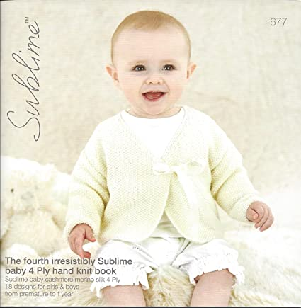 Sirdar Sublime Knitting Pattern Book 677 The Fourth Irresistibly