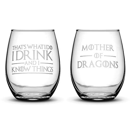 Game of Thrones Wine Glass Set