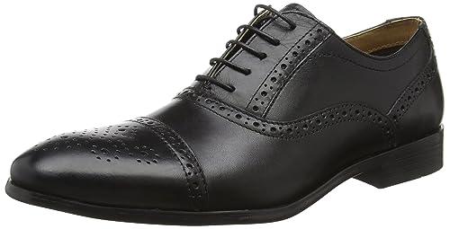 Red Tape Men Hartwell, Zapatos Para Hombre, Marrón (Brown), 43 EU (9 UK)