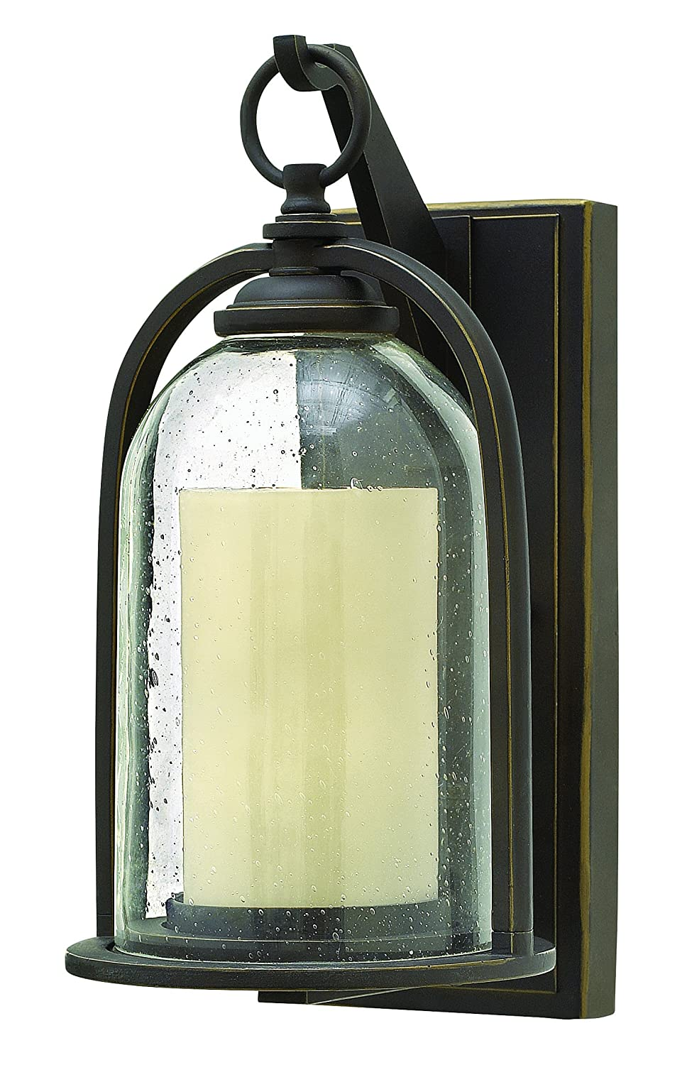 Hinkley 2614oz americana one light wall mount from quincy hinkley 2614oz americana one light wall mount from quincy collection in bronzedarkfinish amazon amipublicfo Gallery