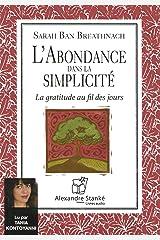 L'abondance dans la simplicite Paperback