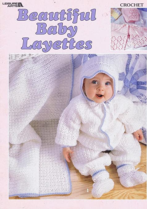 Beautiful Baby Layettes Crochet Pattern Booklet 4 Design Leisure