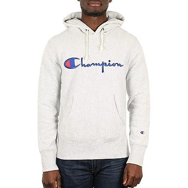 Champion Reverse Weave Hooded Sweatshirt 212574 - Sudadera con Capucha Hombre: Amazon.es: Ropa y accesorios