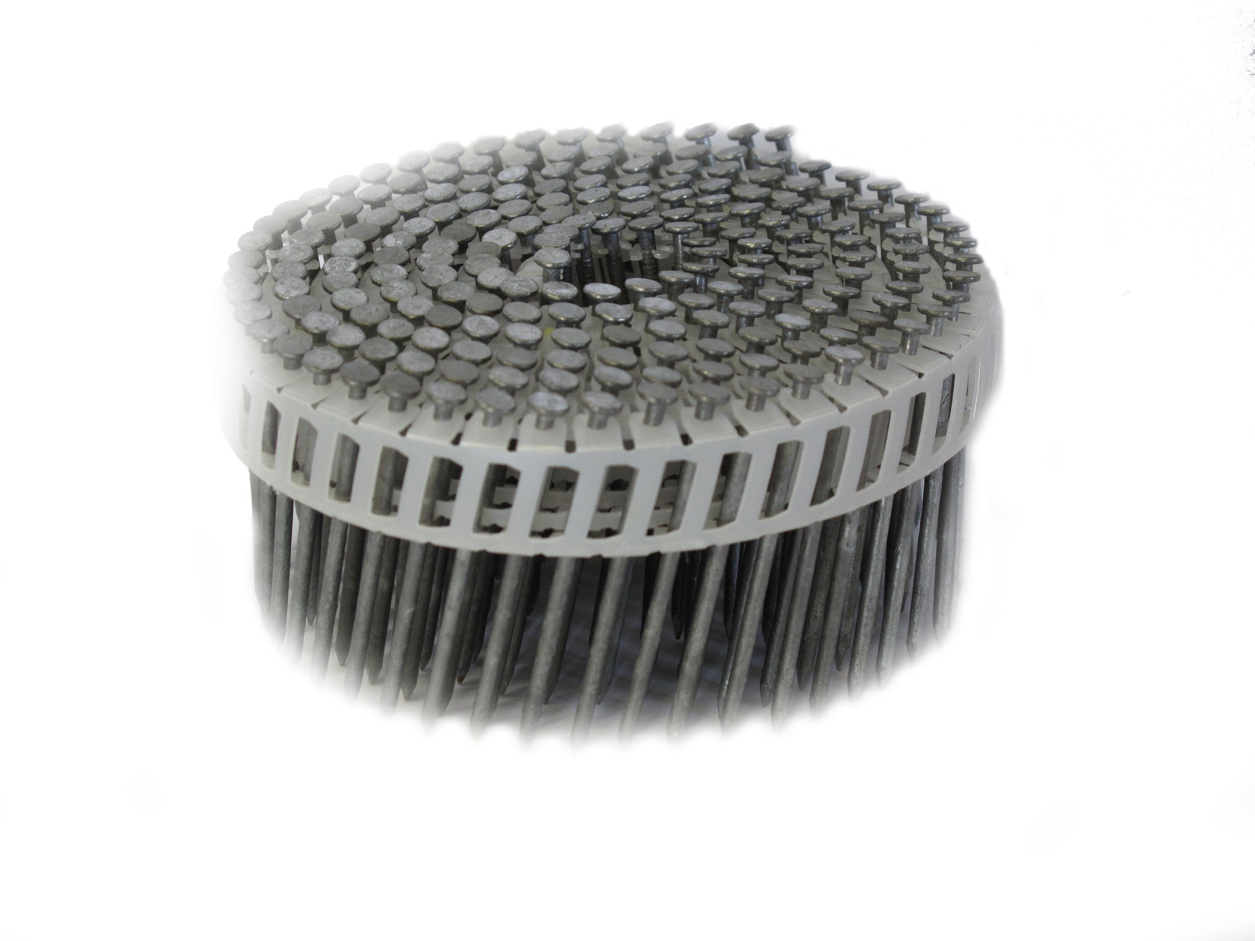 Anchor 212x092BPHD 2-1/2-Inch by 0.092 Plastic Coil 15 Degree Smooth Shank Hot Dipped Galvenized Siding Nails 4,800/Box