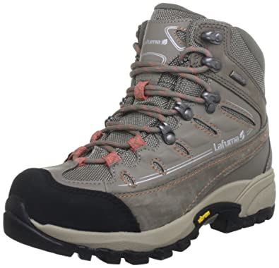 La Fuma LFG1899 - Zapatillas de senderismo de ante para mujer, color azul, talla 36 2/3