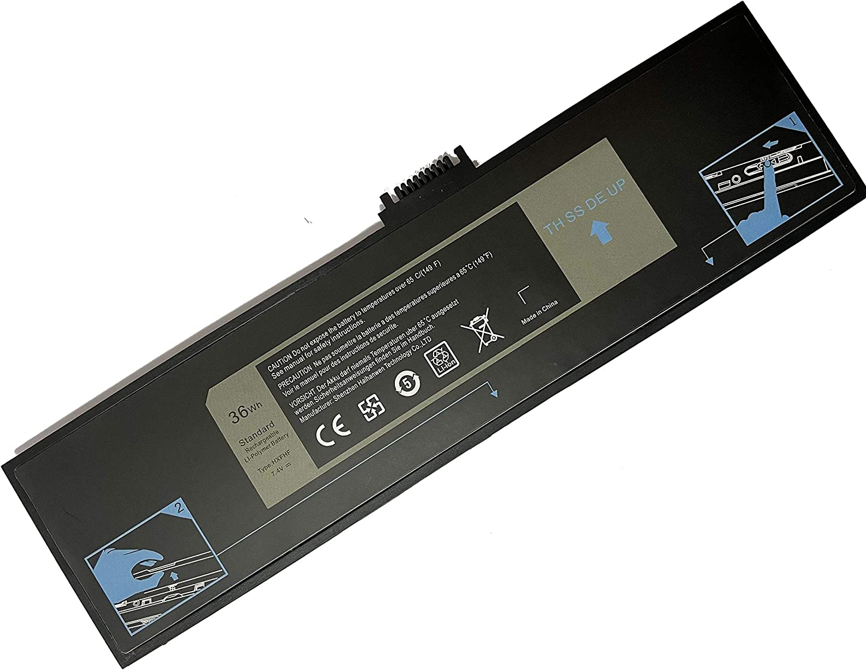 Powerforlaptop Laptop/Notebook Replace Battery HXFHF(7.4V 36Wh) for Dell Venue 11 Pro 7130 Tablet Venue 11 Pro 7139 Fit for VJF0X VT26R XNY66 451-BBGR 0VT26R