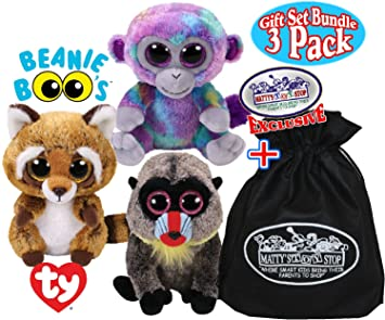 39ed8419dff Image Unavailable. Image not available for. Color  TY Beanie Boos Zuri ( Monkey) ...