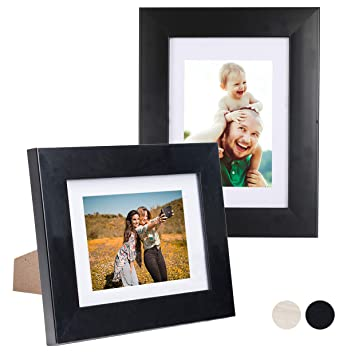 Amazoncom 5x7 Picture Photo Frame 2 Pack4pack With Matted For
