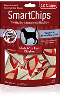 Smartchips Rawhide-Free Dog Chew, Vegetable And Chicken Dog Chews