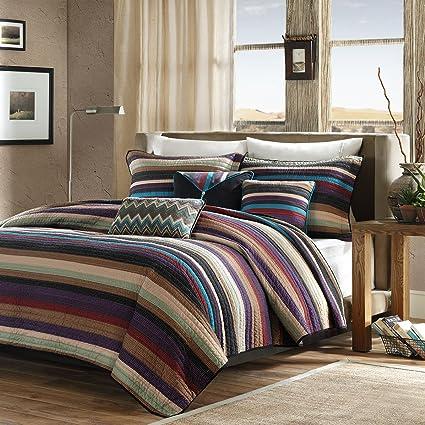 Amazon Madison Park Yosemite Fullqueen Size Quilt Bedding Set
