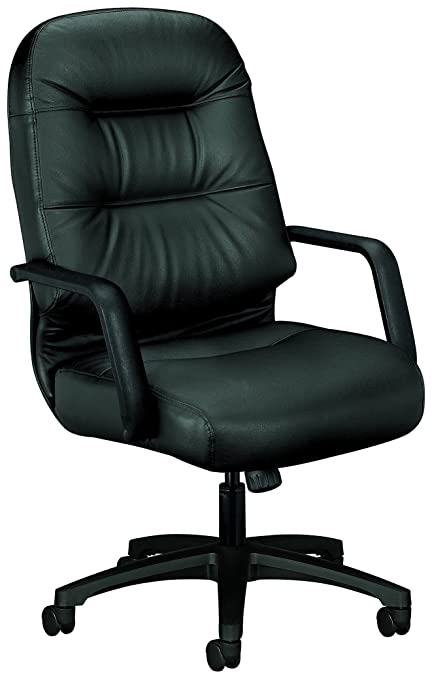 amazon com hon leather executive chair pillow soft series high