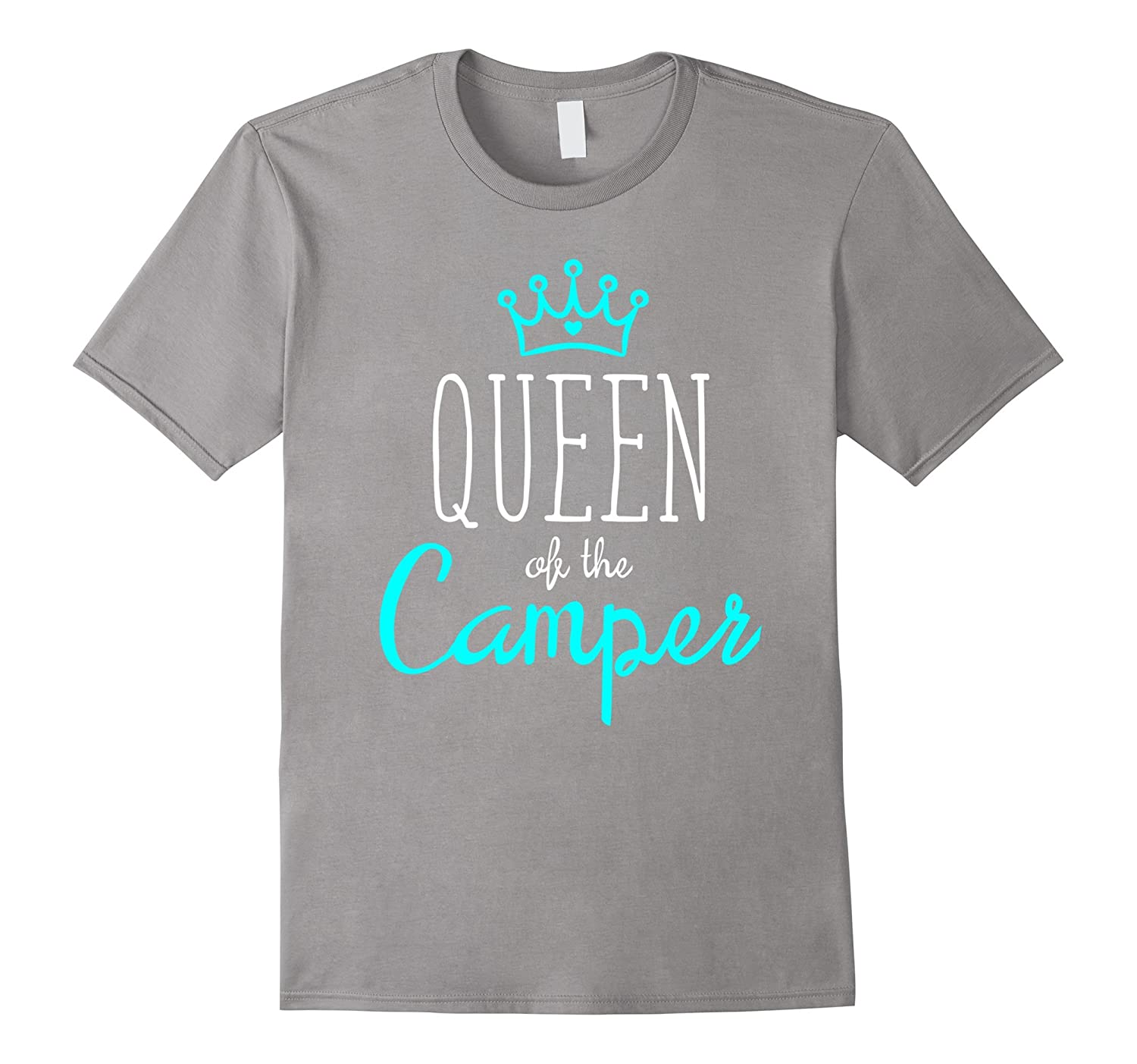 a9cd0ef1c Camper Girl Shirt Queen of Camping Funny Camp Woman Gift-RT – Rateeshirt