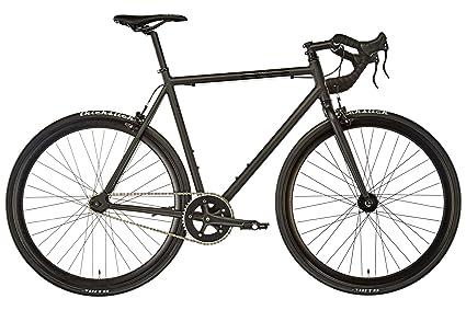 Fixie Inc Floater Race Bicicletta Nero Opaco 2017 Nero Opaco