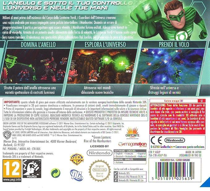 Lanterna Verde: Lascesa dei Manhunters [Importación ...