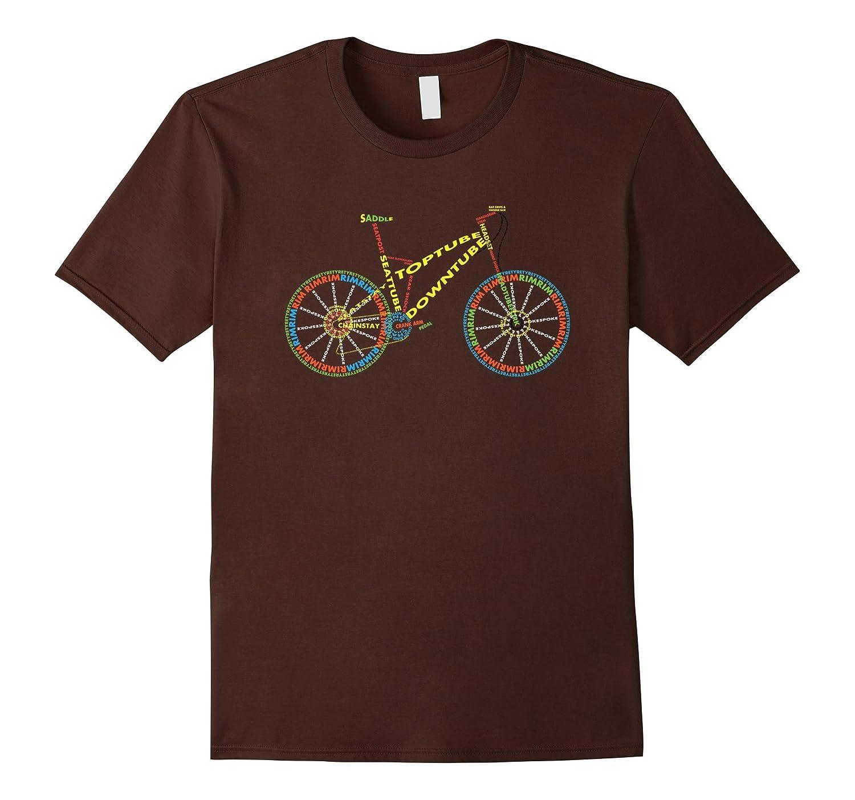 Bicycle Amazing anatomy cool road bike tshirt for cyclist-CD – Canditee