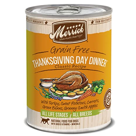 Merrick classic grain free thanksgiving day dinner wet dog food merrick classic grain free thanksgiving day dinner wet dog food 132 oz case of forumfinder Images